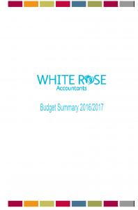 Budget Summary 2016 p0